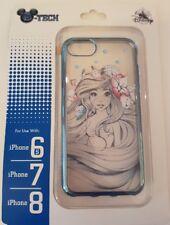 Disneyland Paris iPhone case / Coque ARIEL FLOWER / Fleur iPhone 6s / 7 / 8