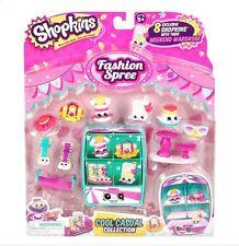 Shopkins Season 3 - Fashion Spree 8 pack COOL CASUAL Playset (11 pieces)