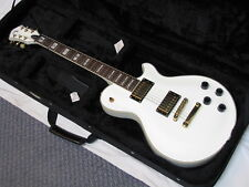MICHAEL KELLY Patriot Vintage electric GUITAR new w/ CASE - White - cosmetics