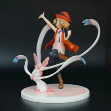 13cm Pokemon Anime Serena Eevee and Sylveon Action Figure Decoration Toys Gifts
