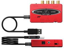 BEHRINGER UCA222 U-Control USB INTERFACCIA AUDIO USB CON USCITA OTTICA