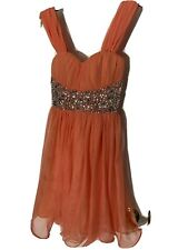 short formal evening dress party prom dresses, size 1, Beaded