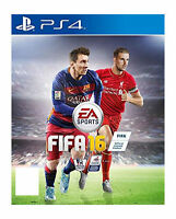 FIFA 16 PS4 (Sony PlayStation 4, 2015) MINT Condition - 1st Class Delivery