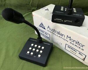 Microfono da tavolo a 8 zone Australian Monitor PAGEMENT 88M