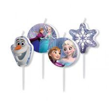 Frozen die Eiskönigin Party Mini-Figurenkerzen Kindergeburtstag