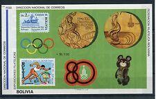 Bolivien Block 100/01 postfrisch / Olympiade .............................1/2498