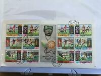 Ras Al Khaima  1970 World Football Cup Mexico  Stamps sheet  R26030