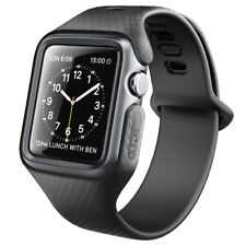 Clayco Ultra Slim Smart Watch Band Case with Strap Bands for Apple Watch 3/2/1
