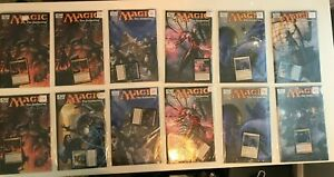 IDW MTG Magic: the Gathering Comic Book lot, sealed with card inserts Turnabout
