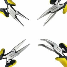 """Mazbot® 5"""" Stainless Steel Beading Jewelery Making Pliers 4pc Set"""