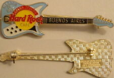 Hard Rock Cafe BUENOS AIRES 1995 Grand Opening GO PIN Guitar - HRC Catalog #1386