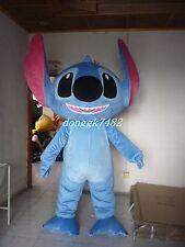Lilo & Stitch Big Head Stitch Mascot Costume Adult Fancy Dress Outfit Halloween