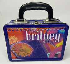 Vintage 2000 Britney Spears Metal Lunchbox or Accessory Tin