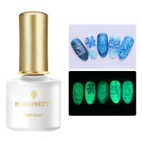 BORN PRETTY Luminous No Wipe Top Coat Nagel Gel Lack Soak Off UV Lamp Gel 6ml