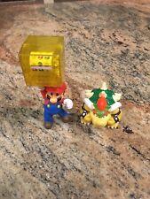 Super Mario Bros Mario & Bowser Figure Set Toy Nintendo McDonalds Slot Machine
