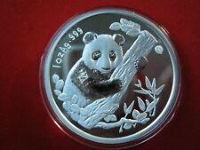 China 1996, Munchen (Munich) Showpanda, WWF Panda, 1oz Silber Proof (16006)