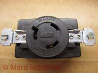 Bryant 70820FR Single Locking Receptacle L820