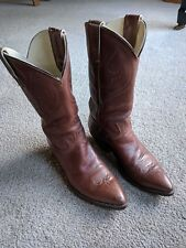 Vintage 1977 Stewart Boot Co Hand Made Mens Boots Size 9.5 D Nice!