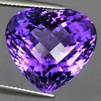 Vivid Natural Purple Amethyst 23.50ct