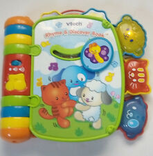 VTECH Rhyme & Discover Book--Great read-along--Lights, Sound, Music!