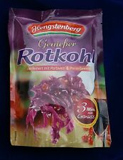 Hengstenberg Rotkraut Red Cabbage with Port + Cranberries, 400gram, from Germany