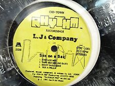 """L.J & COMPANY Sex on A Sax, Don't B Alarmed 1991 House - 12"""" Single LP Chi-Town"""