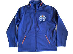 Fanatics Authentic Pro Rinkside Player Full Zip Jacket Edmonton Oilers SZ XL NEW