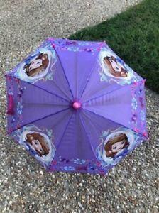 Disney Princess Sofia the First Umbrella Purple