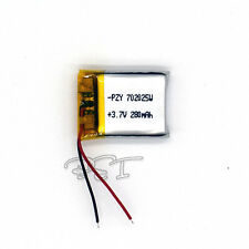 3.7V 280 mAh Li-polymer Rechargeable Battery Li-Po Li-ion 702025 for mp3 mp4 MID