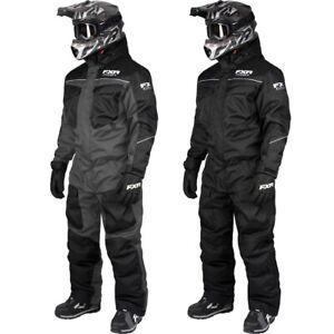 Black 190003-1070-XX FXR™ Octane Insulated Snowmobile Jacket Lime