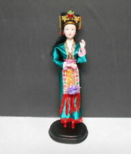 Singapore Costume Doll Asian Clothing with Hand Painted Porcelain Face & Hands