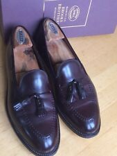 Brooks Brothers Alden Shell Cordovan Tassel Loafers 9 D