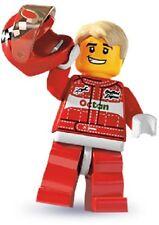 Lego minifigures serie 3 da collezione pilota formula 1