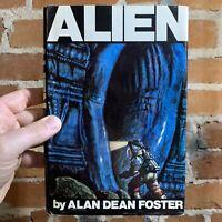 Alien - Alan Dean Foster - Rare 1979 Warner Books Hardback Edition BCE - Ex Lib.