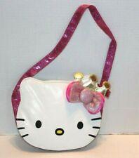 Princess Hello Kitty White Face w/Pink Bows Handbag Purse Shoulder Bag FREE Ship