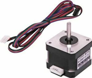 Stepper motor with interface lead 2 phase type electronics school projects