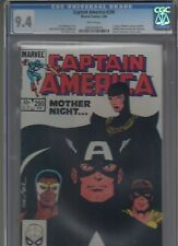 Captain America #290 CGC 9.4 WHITE PAGES! 1ST RED SKULL'S DAUGHTER SIN! 100 360