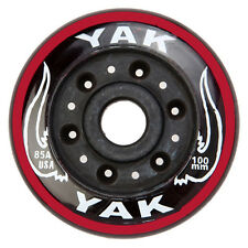 100mm x 85a YAK USA Scooter Wheels, 2 wheels with bearings
