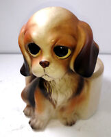 L0efton H6974 Big Eye Puppy Dog Planter Cocker spaniel