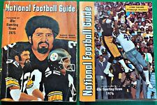 1975 1976 1977 1978 National Football League NFL Guides Sporting News