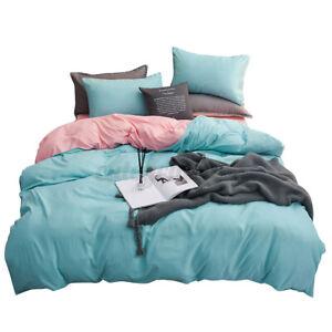 Full Size Comforter Bedding Set Pillowcase Duvet Cover Flat Sheet Quilt Bed Sets