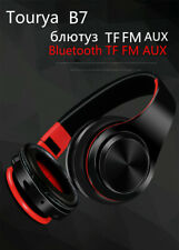 B7 Bluetooth Headphones Wireless Headset On Ear Earphone with Mic SD