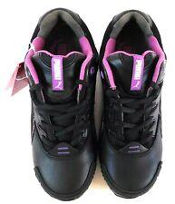 Puma Women's Athletic Work Shoe Size 5 C Black/Purple Steel Toe Lace Up 642885