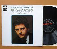 HQS 1205 Barenboim Beethoven Sonatas nos. 4 25 28 1970 HMV Stereo NM/EX