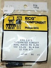 ECG1373 SIP IC dual amp FS