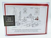 Christmas Cards - The New Yorker Cartoon The Night Before Christmas Box of 8 NEW