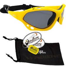 SeaSpecs Classic Soleil Specs Yellow Water Sport Polarized Kite Surf Sunglasses