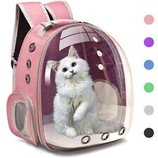 Cat Carrier Bag Breathable Pet Carriers Small Dog Cat Backpack Travel Cage