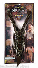 Medieval King Viking Warrior Conan Necklace Fancy Dress Prop Game Of Thrones