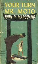 YOUR TURN MR MOTO by JOHN P MARQUAND MEDALLION PB 1935 1963